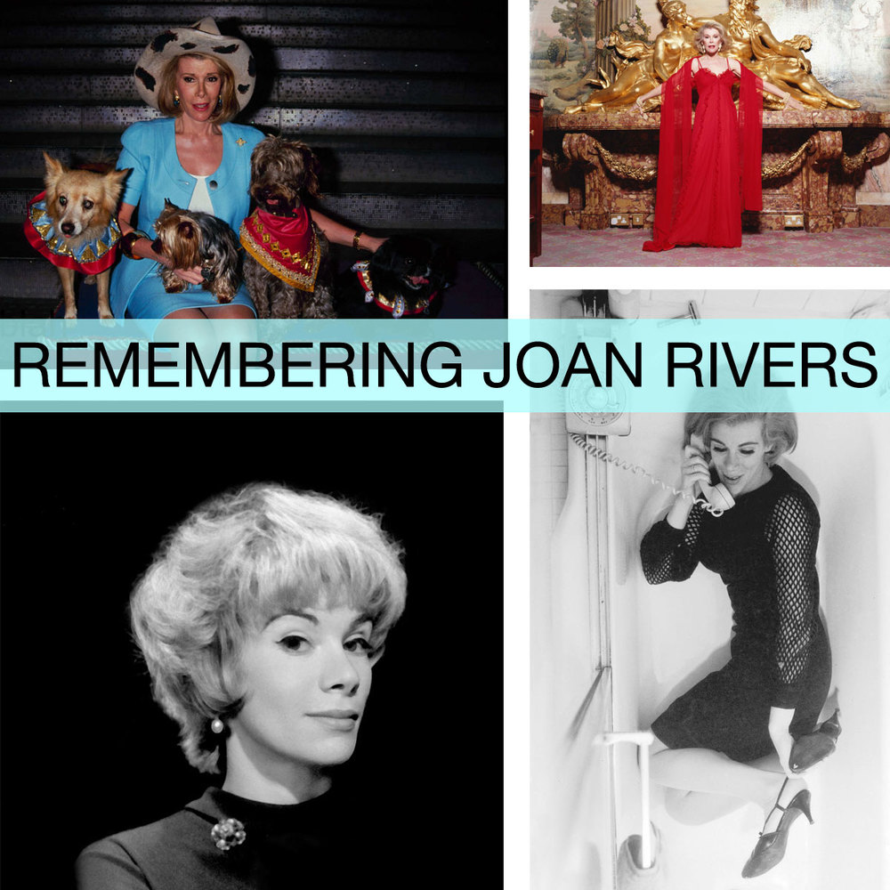Remembering Joan Rivers's Iconic Style  for  New York Magazine 's The Cut  September 2014