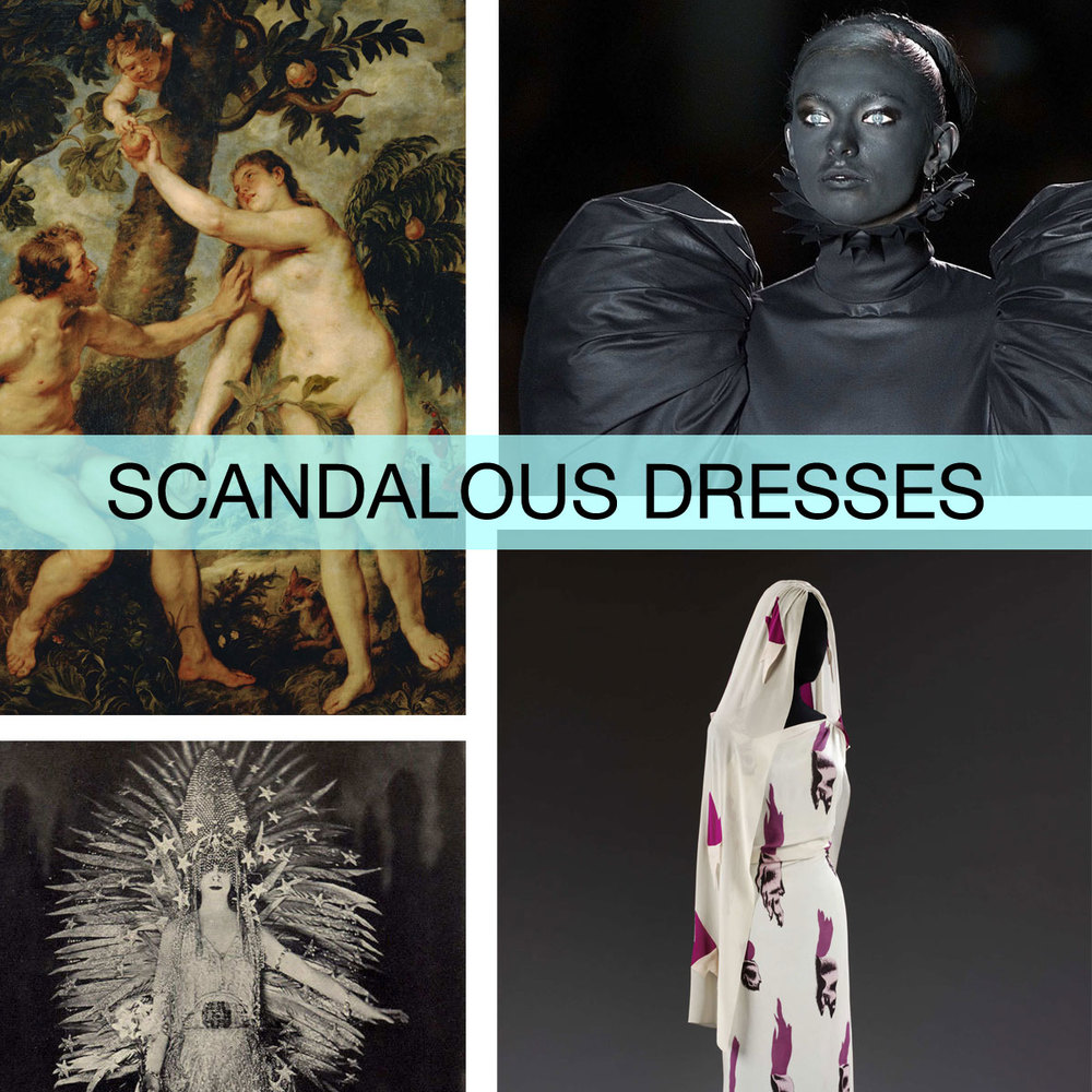 The 50 Most Scandalous Dresses in History  for  New York Magazine 's The Cut  August 2012