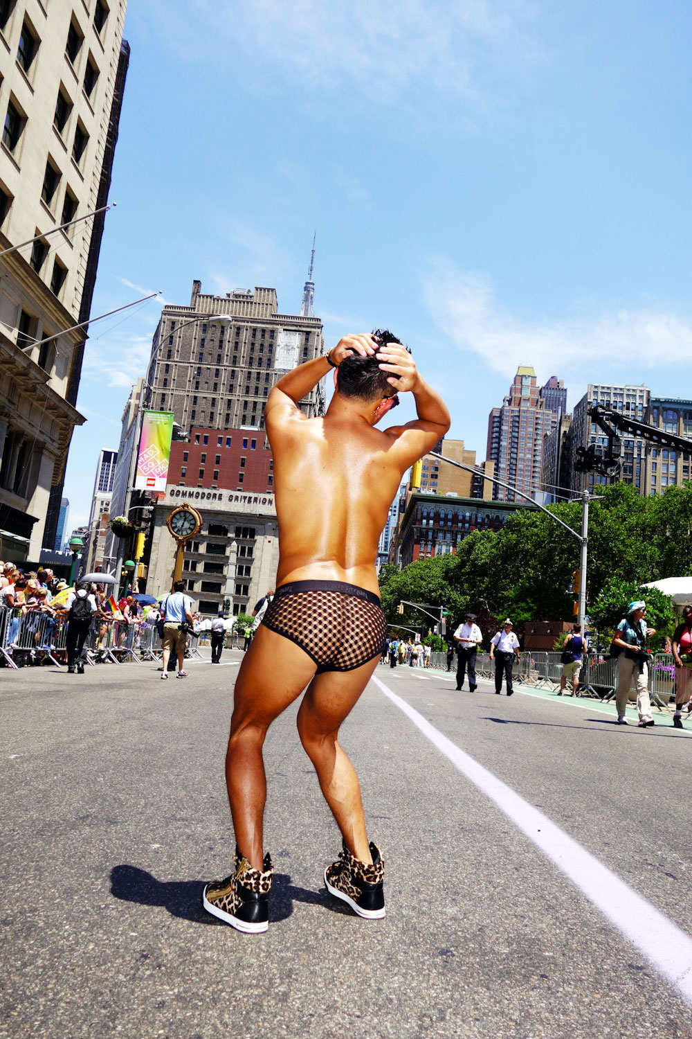 Gay Pride Parade for  New York Magazine 's The Cut, June 2014  Photo by  Dolly Faibyshev