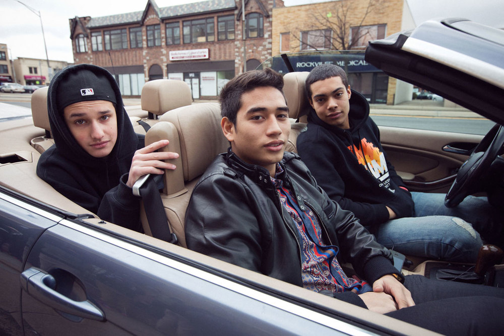 Teen Sneakerheads for  New York Magazine 's The Cut, March 2013  Photos by  Stephanie Noritz