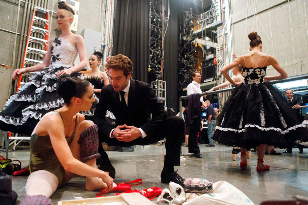 New York City Ballet for  New York Magazine 's The Cut, September 2012  Photo by  Rachel Papo