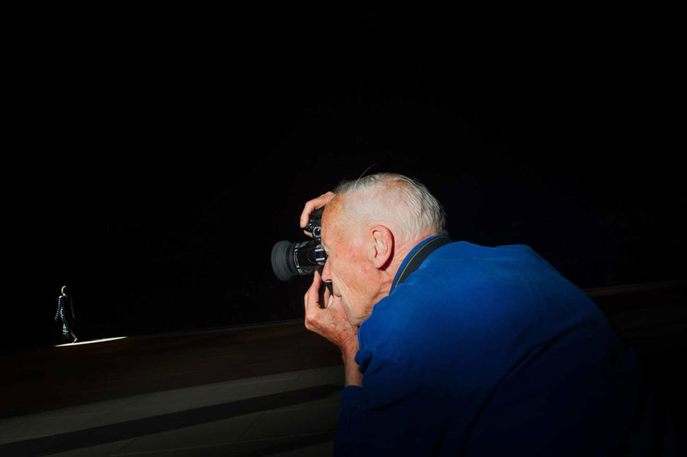 Bill Cunningham at Marc Jacobs, NYFW SS13   Photo by   Dina Litovsky