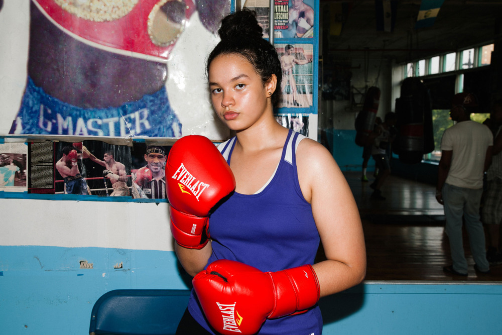 The Tough Women of New York's Boxing Clubs for New York Magazine's The Cut  Photo by  Brittany Carmichael