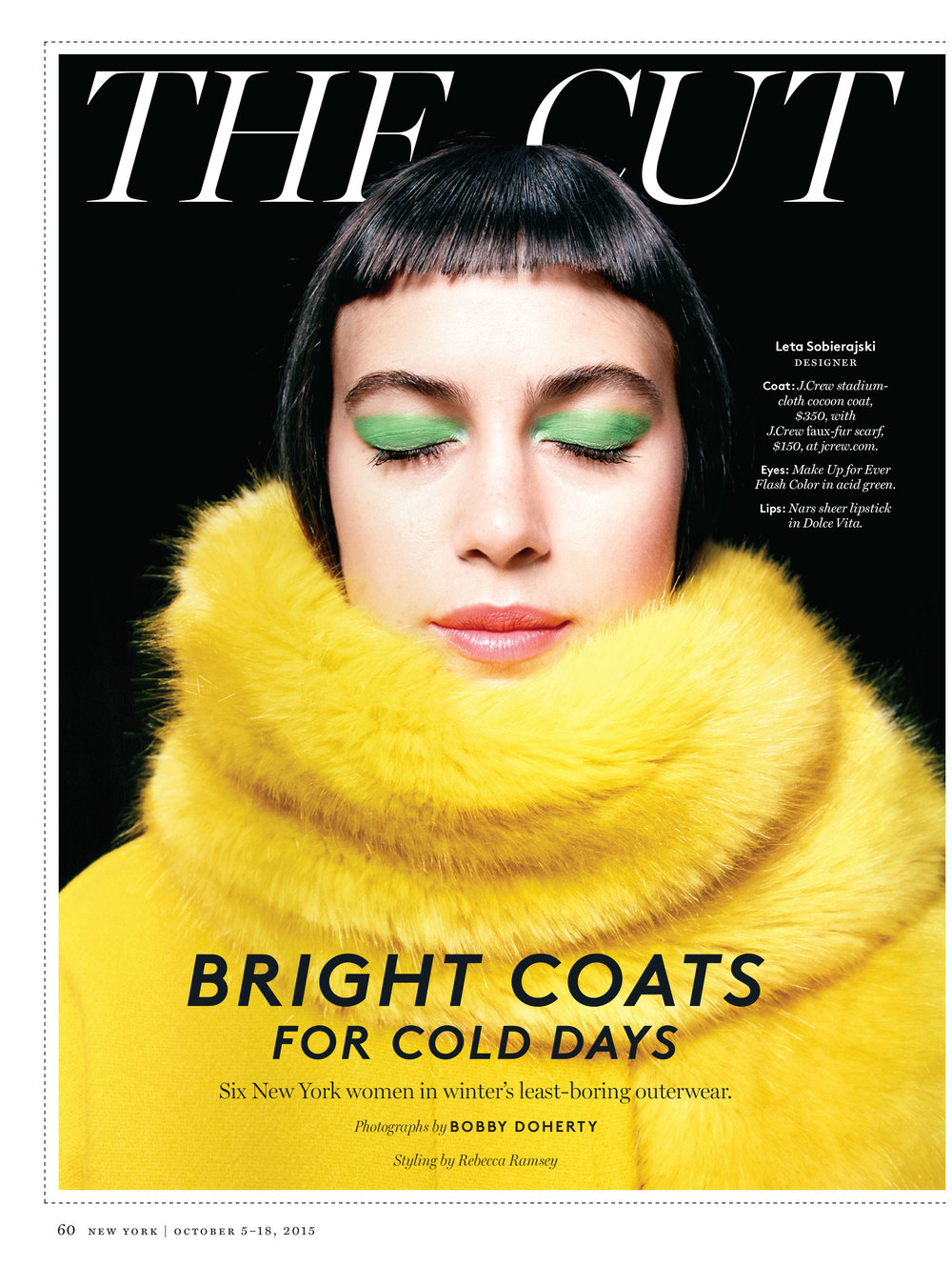 Bright Coats for Cold Days