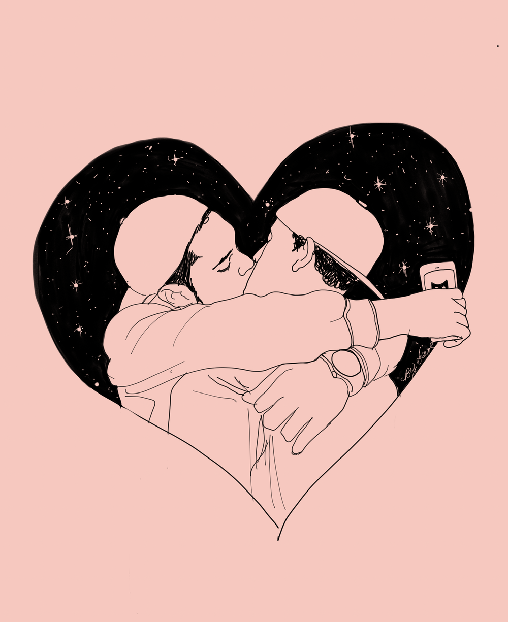 Love in a Hopeless Place, personal essay series for InStyle.com, February 2017  Illustrations by Rachel Moranis