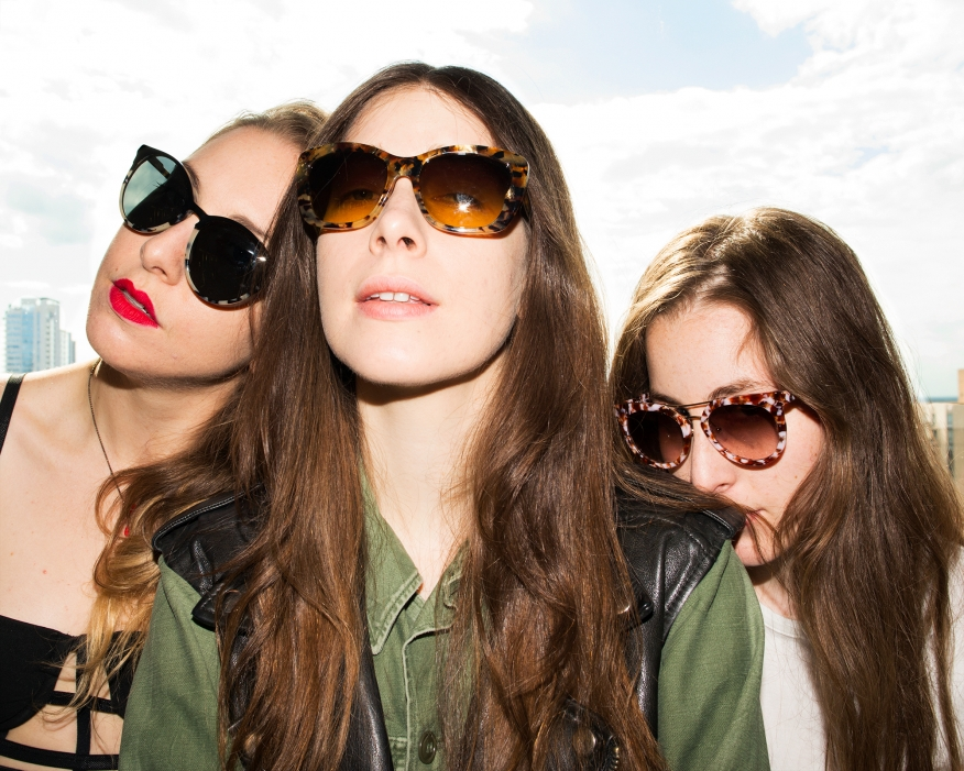 Haim for  New York Magazine 's The Cut, August 2013.  Photo by  Natalie Krick .