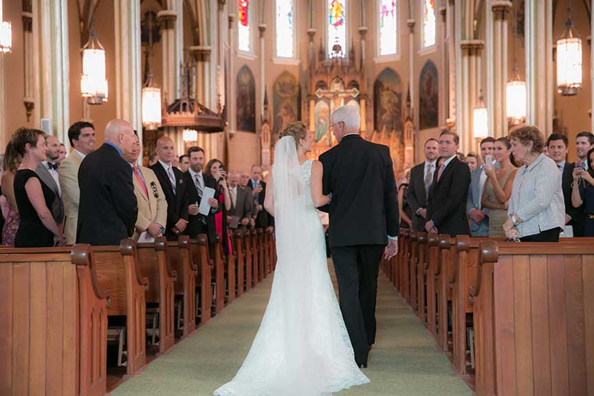 Immaculate Conception & St. Joseph Parishes Catholic wedding  in Chicago