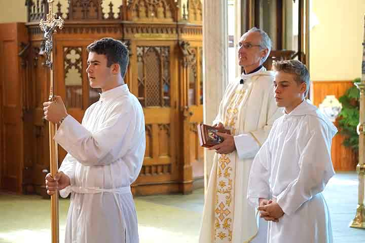 immaculate conception st. joseph catholic church chicago altar servers