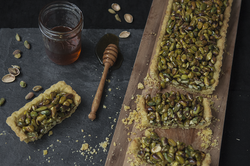 Heritage At Home - Pistachio Caramel Tart + Cardamom ...