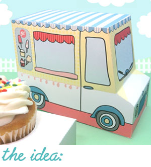 We'll team up to design a specialty cupcake, candy or treat box that your customers will love. You can choose one of my existing designs or we can get really creative and completely personalize the look to match your food truck, bakery, shop or whatever theme you can dream up! A variety of options are available to fit any budget!