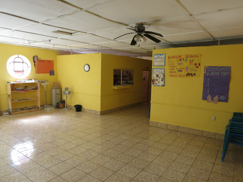 San Juan waiting area