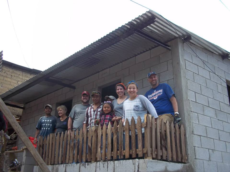 House completed in August by group from University Park UMC in Dallas, Texas
