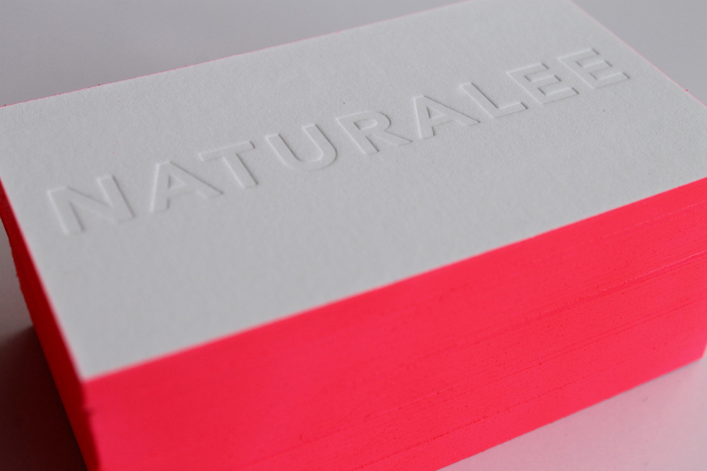 The Naturalee Business Cards — Swell Press Paper Co.