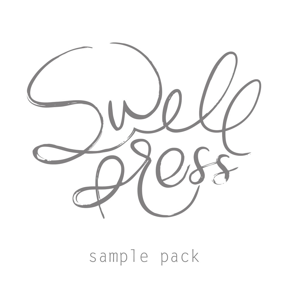 Paper samples ellie simple wedding invitation / save the date.