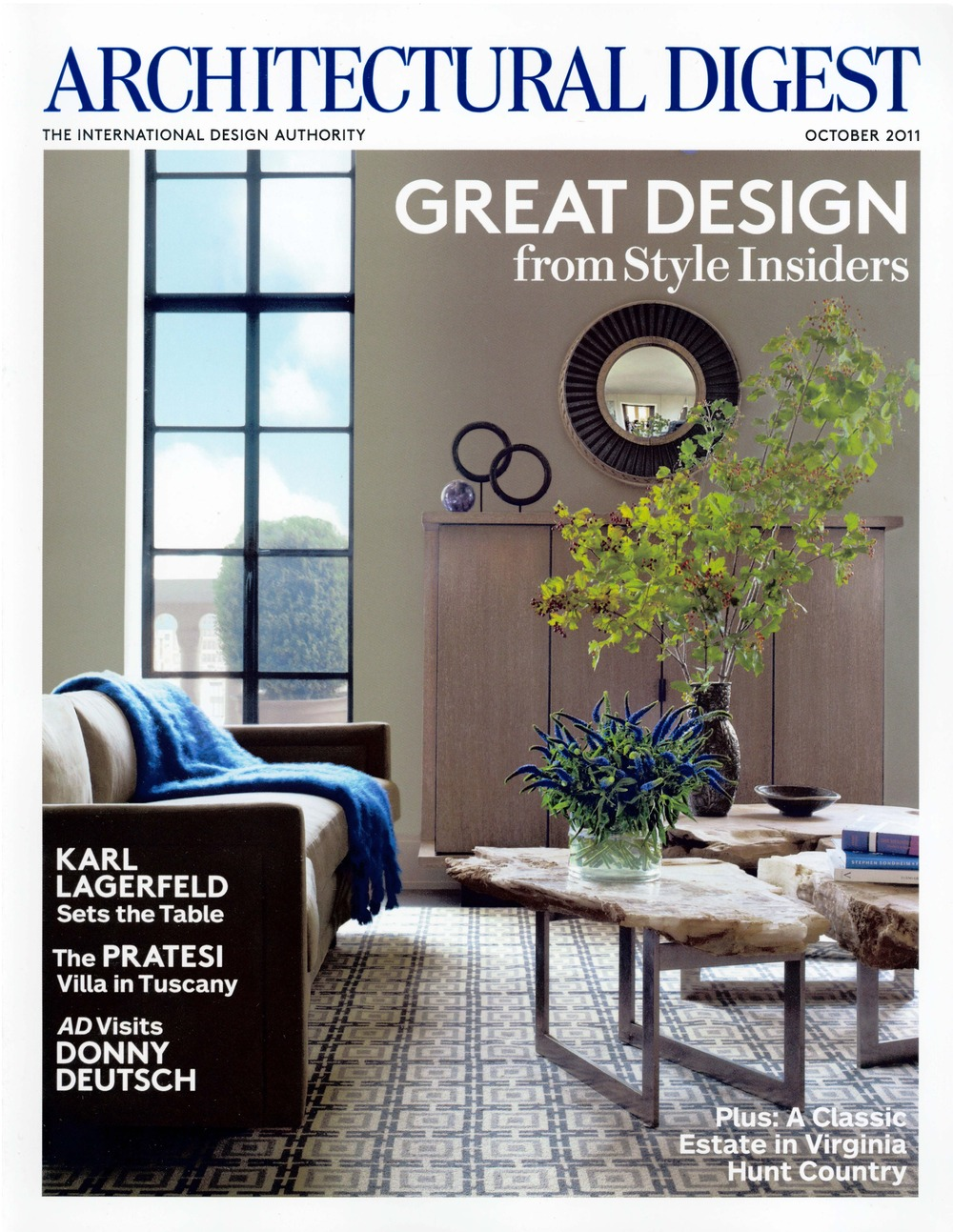 Read the Story on ArchitecturalDigest.com