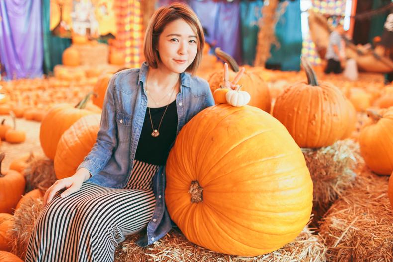 日誌diary◥ 南瓜節特輯 // pumpkin patch + petting zoo! 挑南瓜初體驗