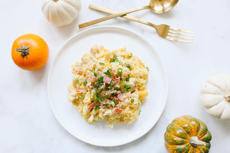 食譜recipe◥ 南瓜節特輯 // creamy pumpkin gnocchi 南瓜乳酪義大利麵疙瘩