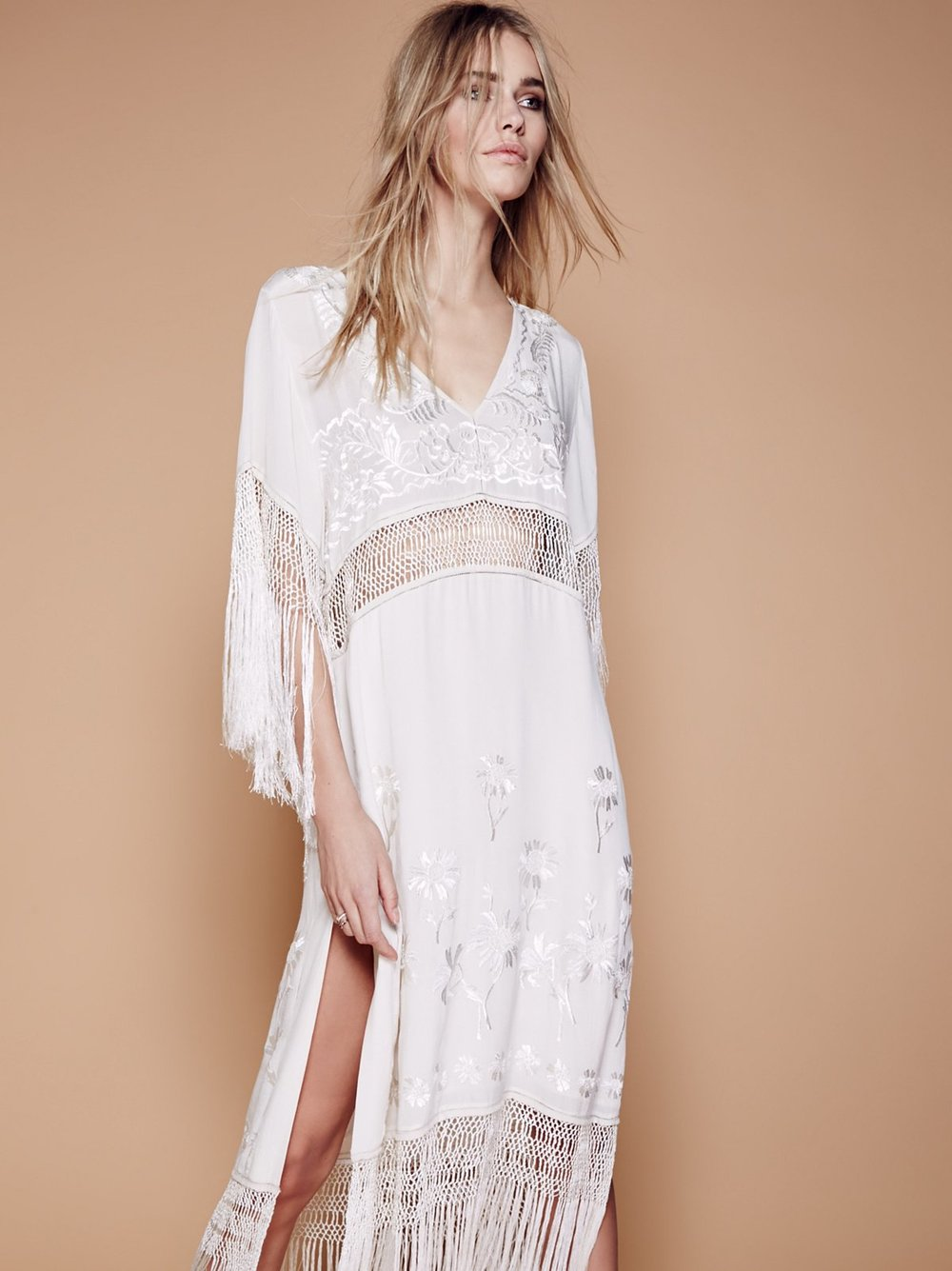 Ella Fringe Midi Dress