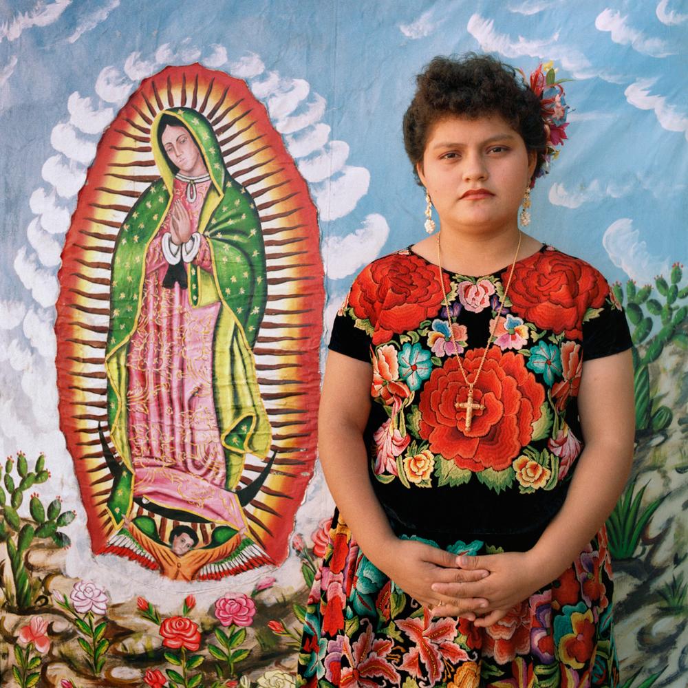 Guadalupe, San Cristobal de las Casas, Chiapas, México 1986
