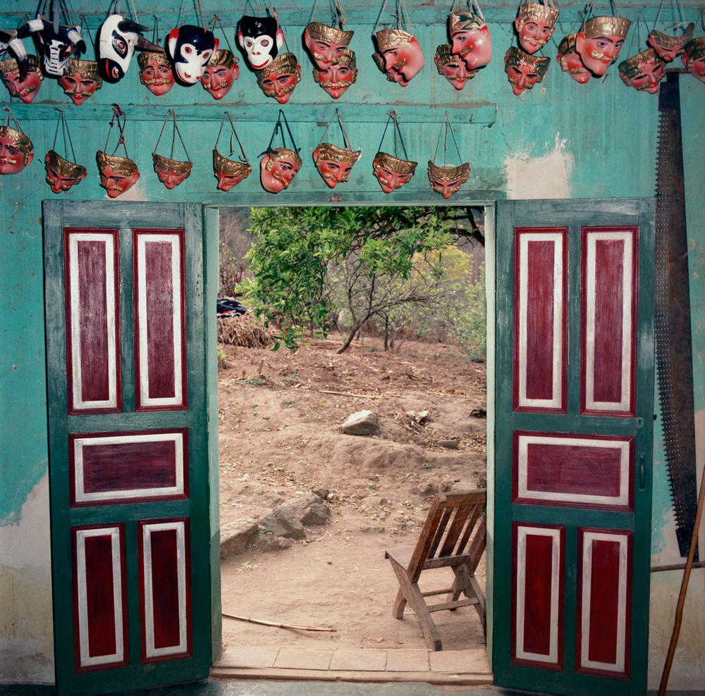Maskmaker's Doorway, Guatemala 1986