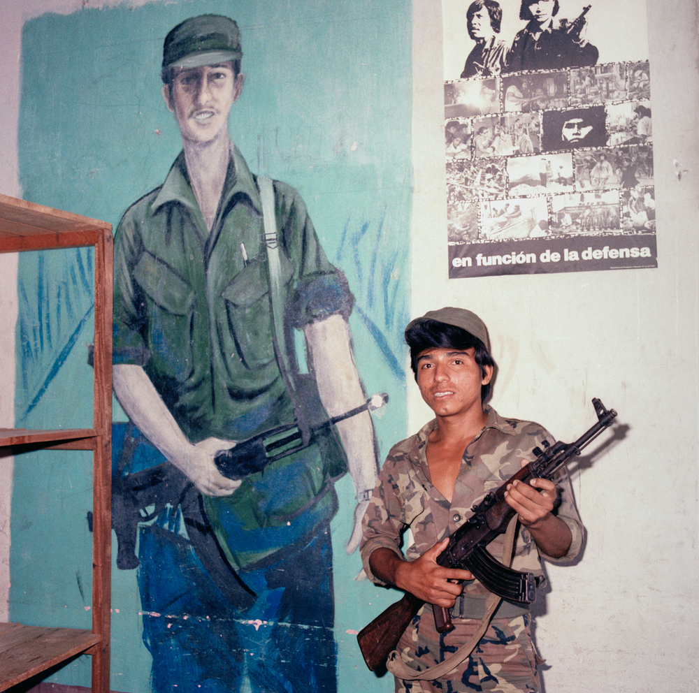Soldier, Granada, Nicaragua 1986