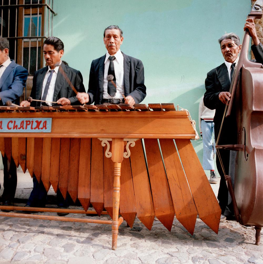 Musicians, Guatemala 1986
