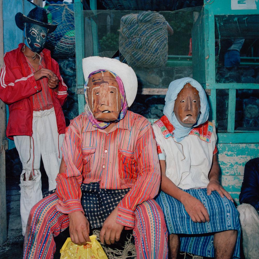 Masked Dancers, Guatemala 1986