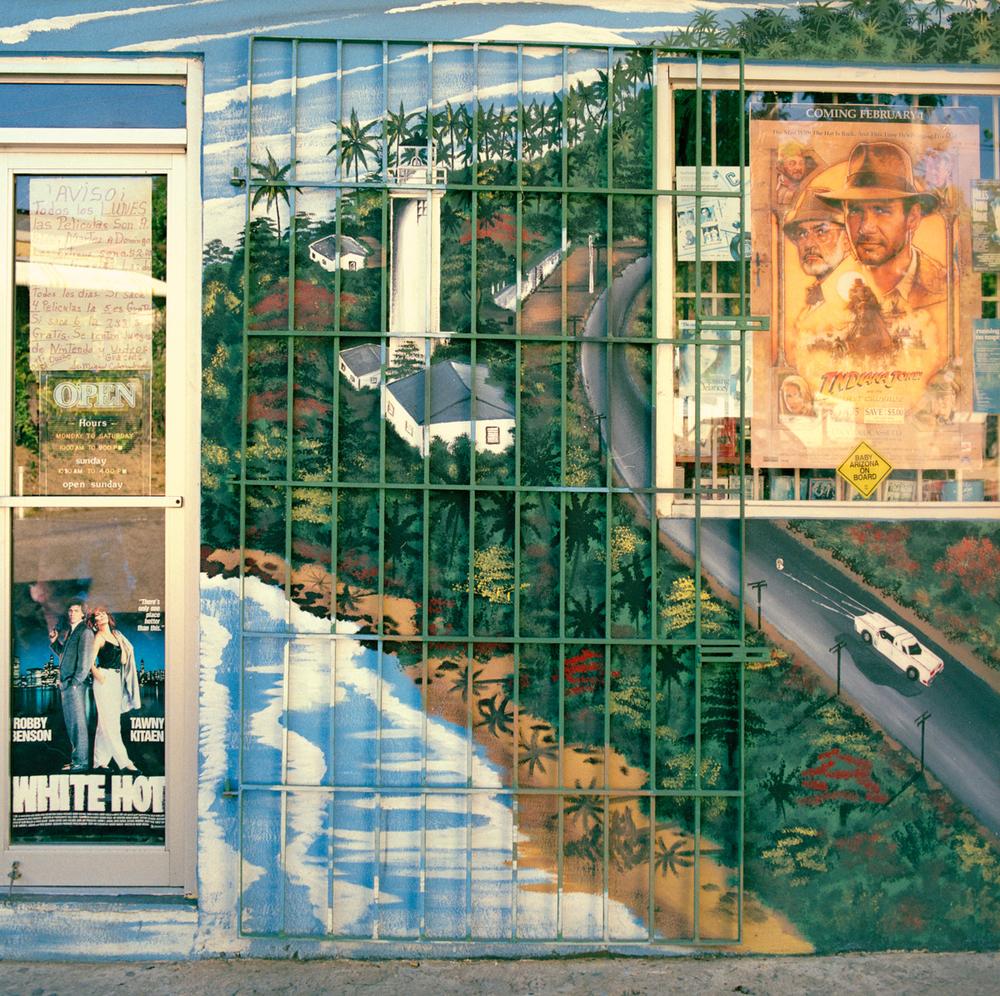 Video Store, Puerto Rico 1990