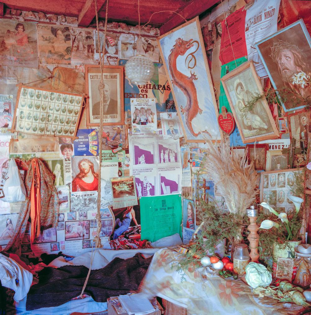 The Healer's Place (Inventory), San Cristobal de las Casas, Chiapas, México 1986