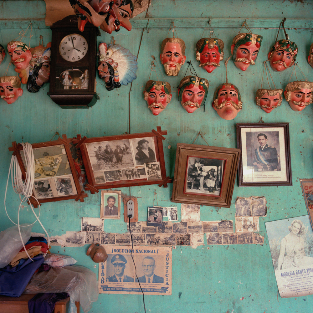Maskmaker's Workshop, Guatemala 1986