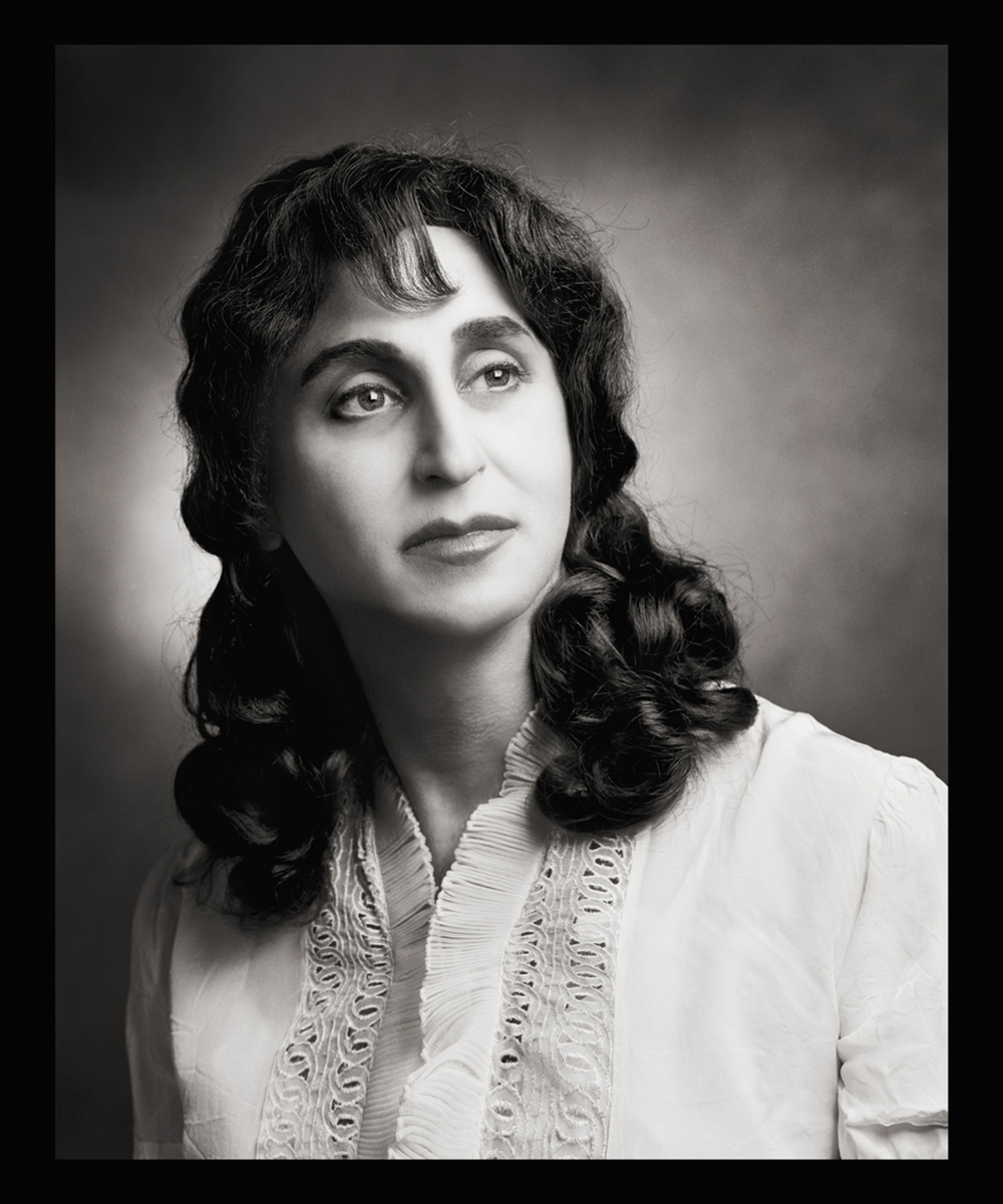 Self Portrait as Malka Ryten  b. Lublin, Poland, 1884 d. Tel-Aviv, Israel, 1974