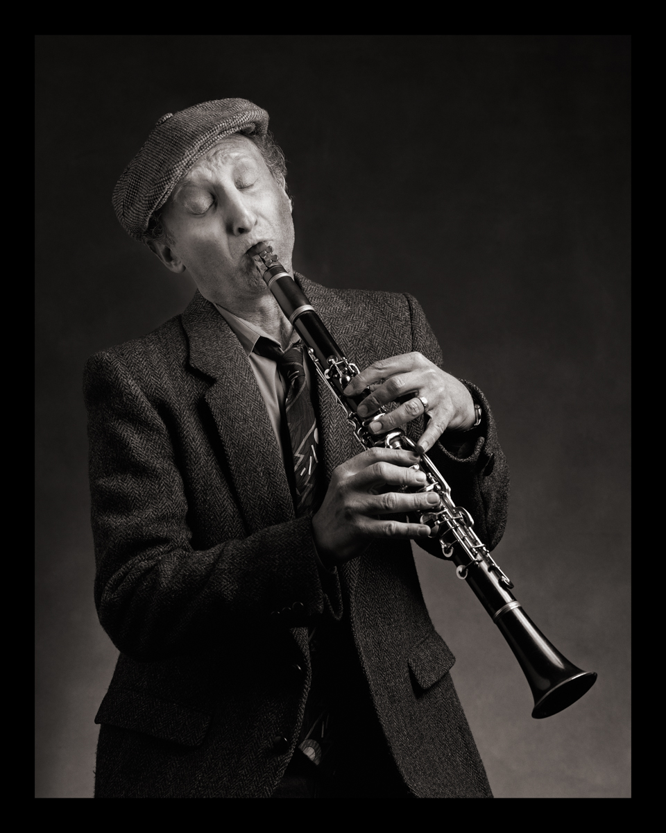 Self-Portrait as Yankel Goldstein (Clarinet-The Goldstein Brothers Klezmer Band)  b. Poland, 1900s d. Argentina, 1960s