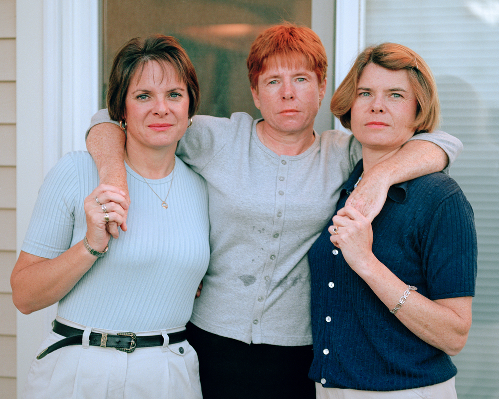 Mary, Maureen, Jean 2000