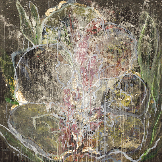 #42  2012 untitled  60″ x 60″ acrylic on canvas