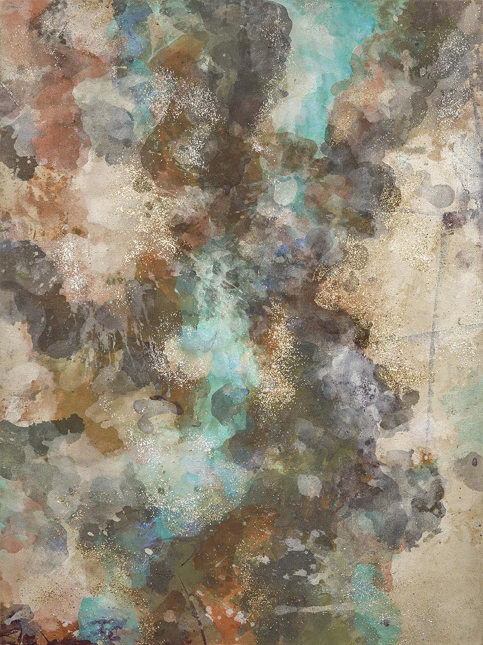 """#142 2014 Taos Camo 30""""x 40"""" acrylic on canvas"""