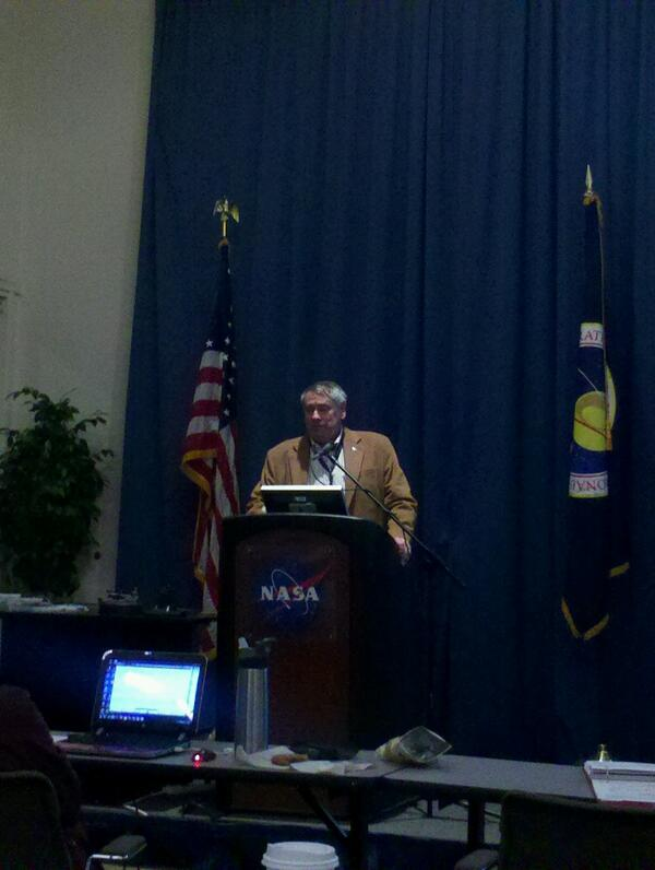 Pete Worden, Director of NASA Ames (Pic credit @AEM_MX)