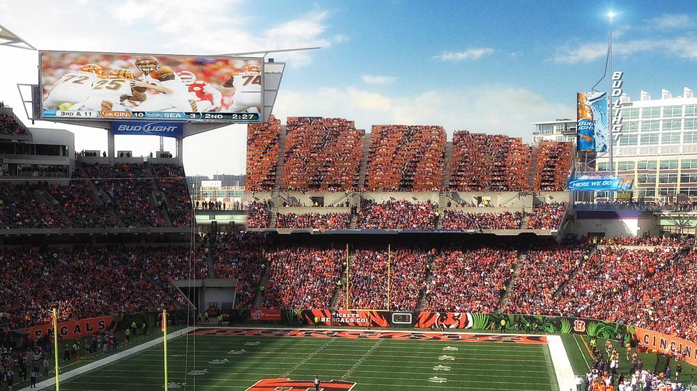 paul brown stadium upgrades premium enhancements meis architects
