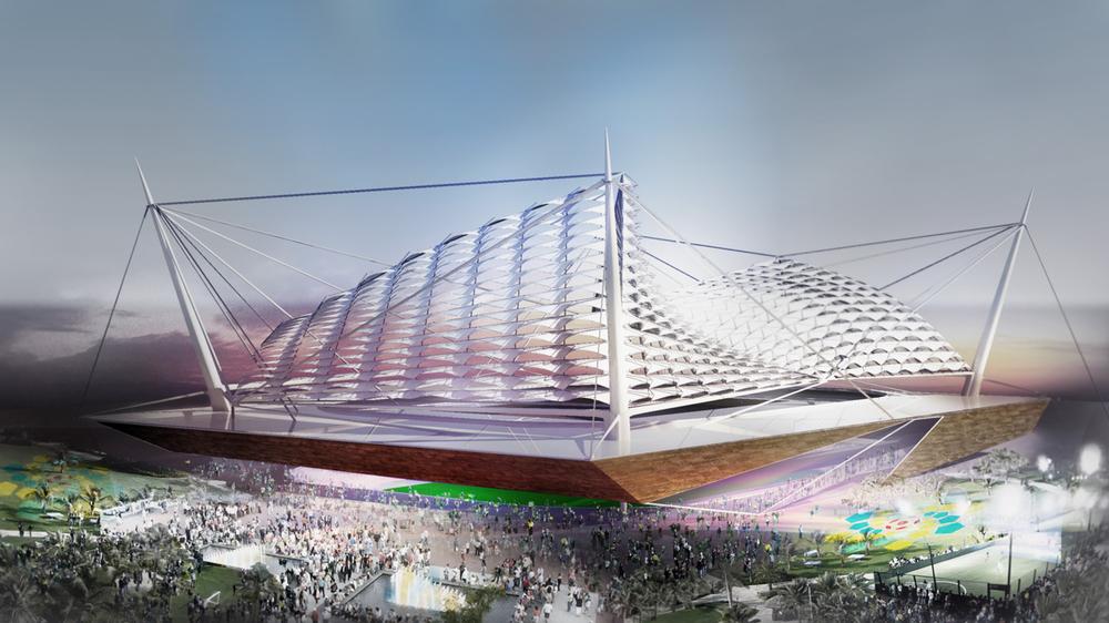 Al Wakrah Stadium Design Study Meis Architects