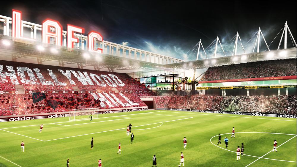 Image Gallery Lafc Stadium