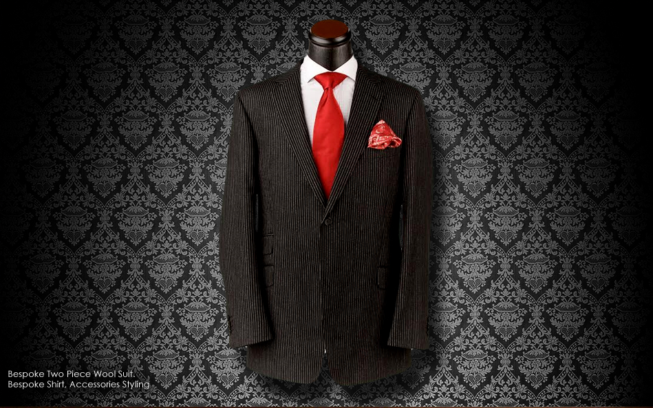 Custom suit Detroit, William Malcolm Luxe Collection Bespoke Suit Detroit