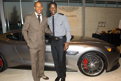 WILLIAM MALCOLM NFL WR NATE BURLESON HOSTS FALL STYLE PREVIEW AT - Aston martin troy