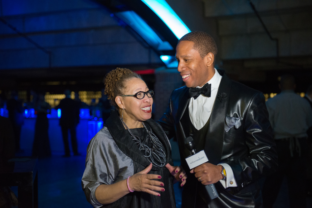 Detroit Designer William Malcolm at the 2015 North American International Auto Show For Detroit Luxe Magazine