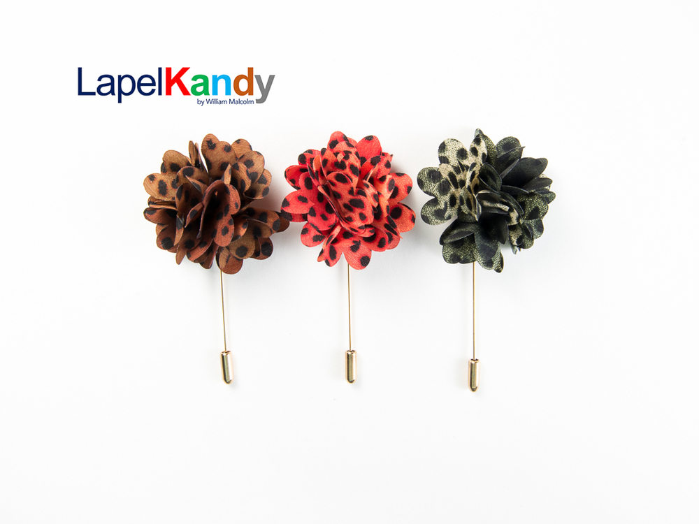 Lapel Flower, Lapel Kandy, William Malcolm Bespoke, William Malcolm Luxe Collection, Lapel Candy, Lapel Kandy