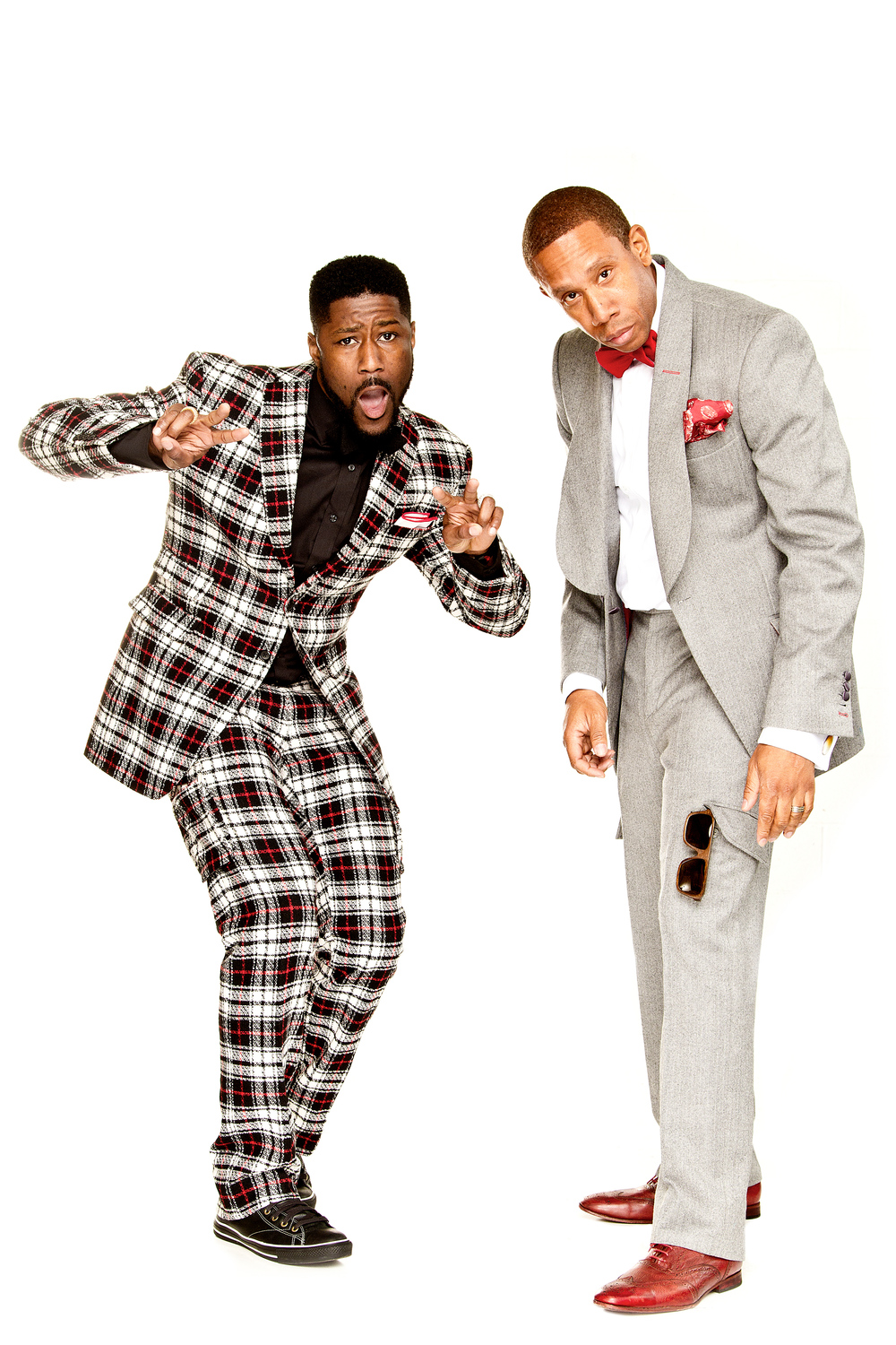 William Malcolm designs a collection for NFL Networks Nate Burleson. To learn more visit:www.BLineSuiting.com