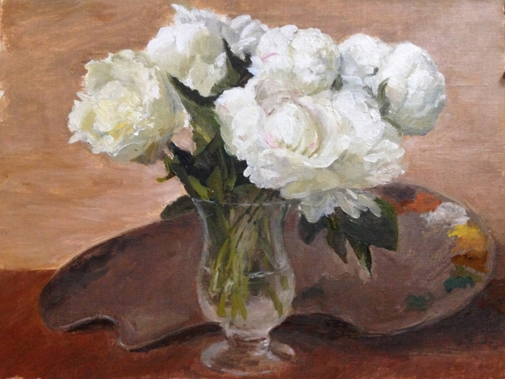 Peonies and Palette