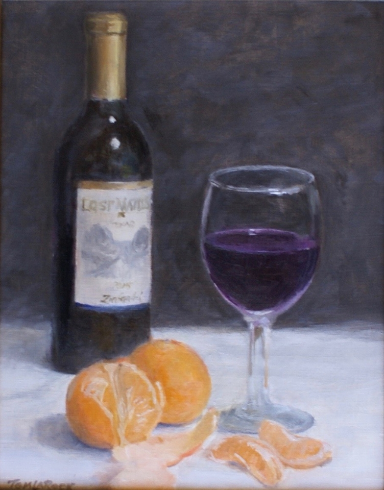 Mandarins and Wine