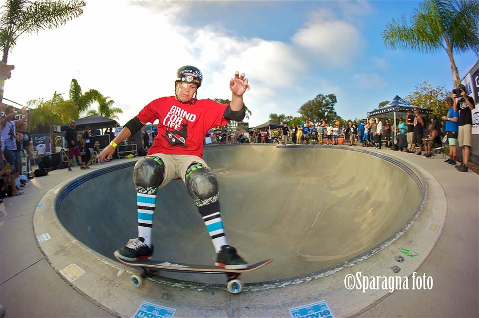 Mike still skates competitively and every day!