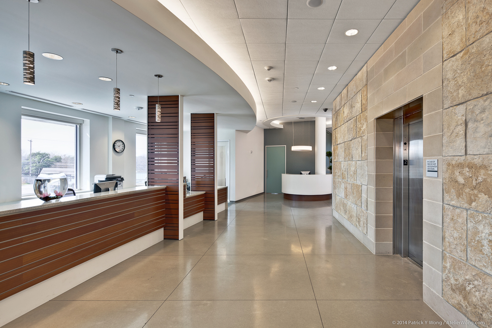 8_Eye Physicians of Austin Interior_Elevator Lobby_Sixthriver Architects.jpg