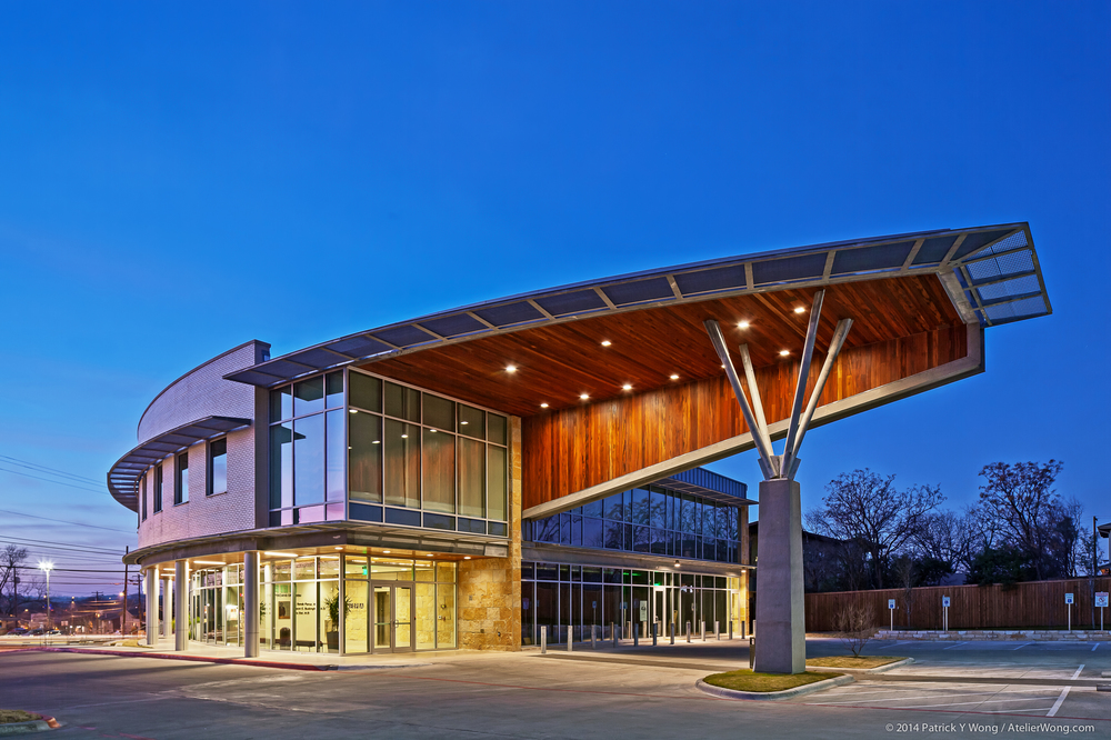 13_Eye Physicians of Austin Exterior_Dusk_Sixthriver Architects.jpg