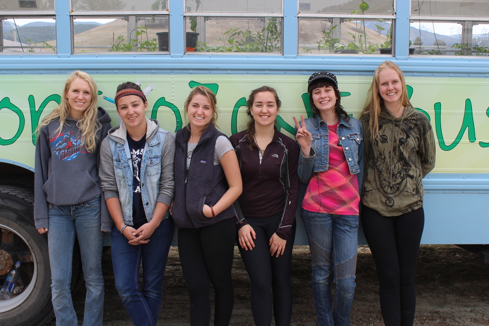 2014 BOB interns (L>R) Kayla Verzuh, Kate Moore, Rylea Rubright, Sicily Ranieri, Cherokee Nevin, Madde Gnauck.